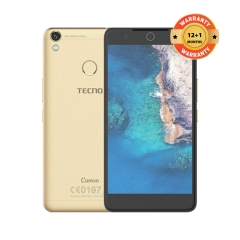 "TECNO Camon CX Air: 5.5"" Screen,16GB ROM + 2GB RAM, 13MP + 13MP Camera Smartphone champagne gold"