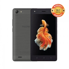"TECNO WX3: 5.0"" Screen, 8GB ROM + 1GB RAM,  5MP + 5MP Camera Sky Gray"