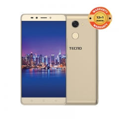 "TECNO L9 Plus: 6.0"" Screen, 13MP  + 5MP , 16GB ROM + 2GB RAM,5000mAh battery champagne gold"