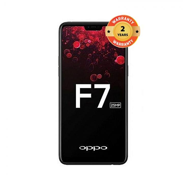 "OPPO F7 - 6.23"" - 4GB/64GB - 25MP/16MP Camera - Dual SIM - 4G black"