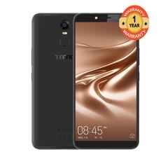 TECNO Pouvoir 2 - 16GB+3GB RAM - 6.0'' HD+ - 8MP+13MP - 4GLTE - 5000mAh  - Face ID - Dual SIM black