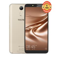 TECNO Pouvoir 2 - 16GB+3GB RAM - 6.0'' HD+ - 8MP+13MP - 4GLTE - 5000mAh  - Face ID - Dual SIM gold