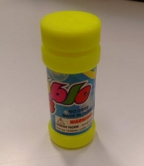 Flash Bubble Gun's Bubble solution (One container) Yellow Small