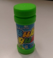 Flash Bubble Gun's Bubble solution (One container) Green Small