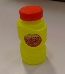 Big Bubble Gun shooter's Bubble solution (One container) yellow medium