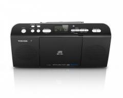 Toshiba TY-CWU25 Portable CD Radio With Bluetooth - Black