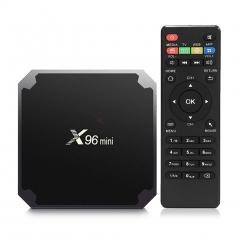 X96 Mini - Android 7.1 - 2GB RAM 16GB ROM Quad Core Android Box Black