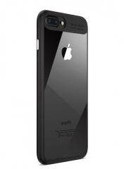 Apple iPhone 6 Plus /6s Plus Baseus Autofocus TPU Ultra Slim Clear Case Premium Hybrid Protective black one