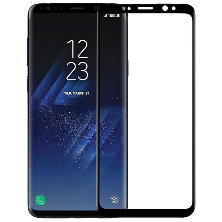 Samsung Galaxy S9  Full Tempered Glass Screen Protector black one