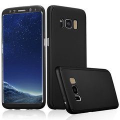 Samsung Galaxy S8 Full Protection Cover Case black one