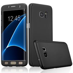 Samsung Galaxy S7 Edge360 Full Protection Cover Case black one