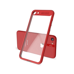 Auto Focus Back Cover Case Ultra-thin for Apple iPhone 7and iPhone 8 Red one