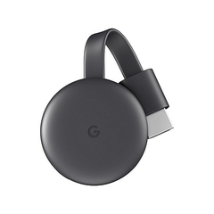 Google Chromecast 3rd Generation - Black