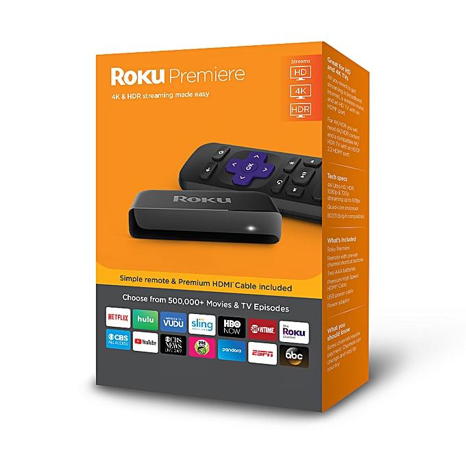 ROKU Roku Premiere - HD/4K/HDR Streaming Media Player for Netflix
