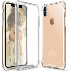 Crystal Clear Transparent ShockProof Case for iPhone XS MAX clear one