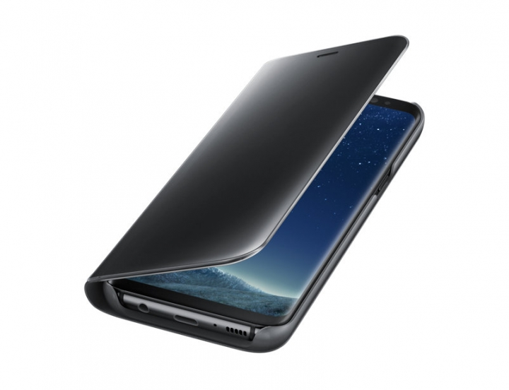 Samsung Galaxy S8 Clear View Standing Cover black 148.9 x 68.1 x 8.0mm