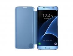 Samsung Galaxy S7 Edge Clear View  Cover Blue 150.9 x 72.6 x7.7mm