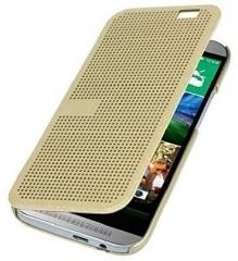 HTC Desire 626 Dot View Cover gold 146.9 x 70.9 x 8.2