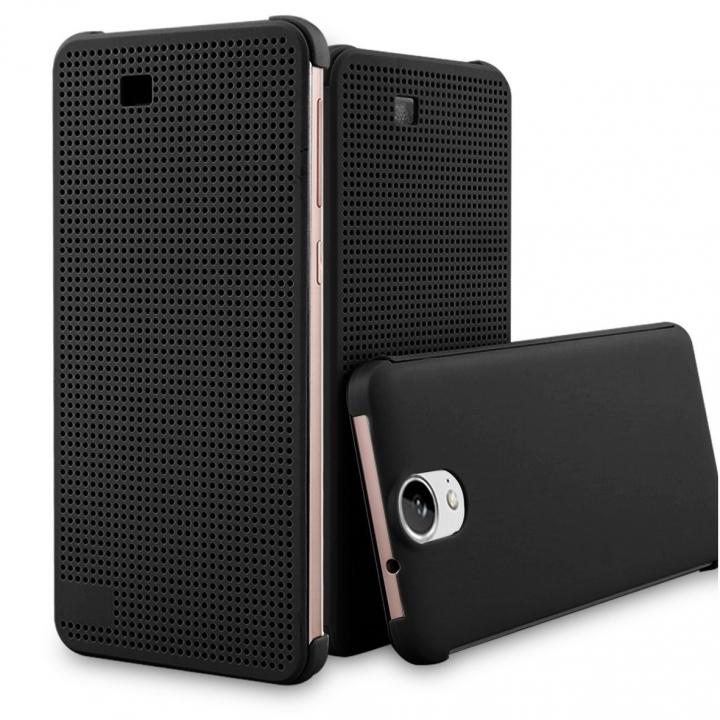 HTC Desire E9  Dot View Cover black 156.5 x 76.5 x 7.5