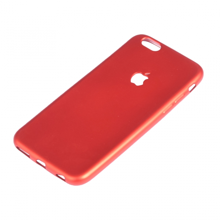 Iphone 6plus and 6S Plus Rubber Back Cover Case red 158.1 x 77.8 x 7.1