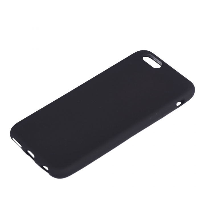 Iphone 6plus and 6S Plus Rubber Back Cover Case black 158.1 x 77.8 x 7.1