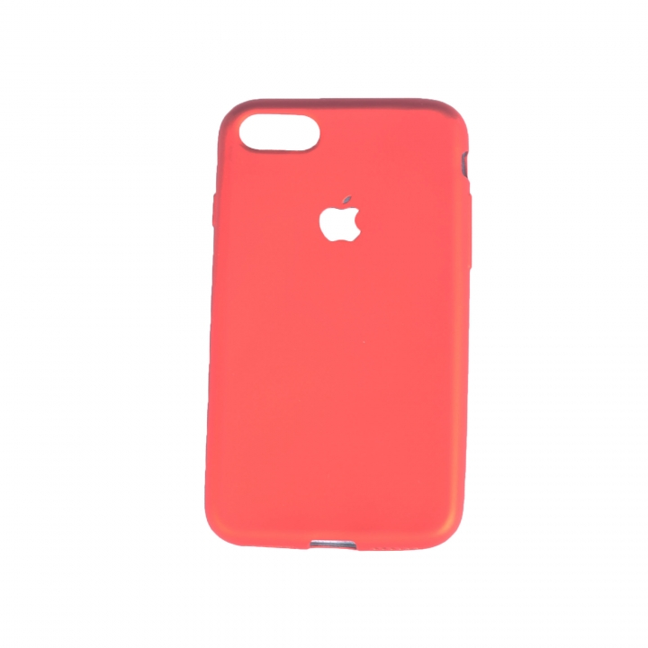 the best attitude 8b0f4 9f4ed Iphone 7 Rubber Back Cover Case red 138.3 x 67.1 x 7.1