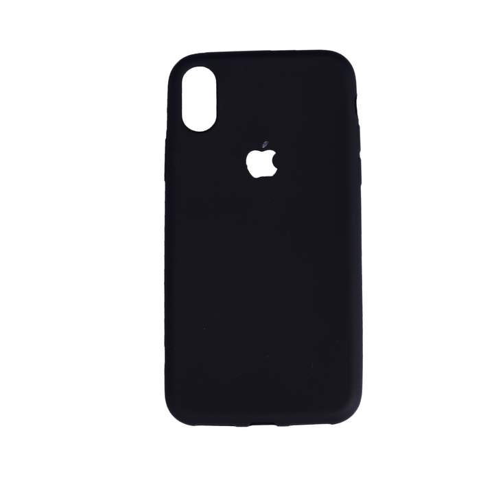 Iphone X Rubber Back Cover Case black 143.6 x 70.9 x 7.7 mm