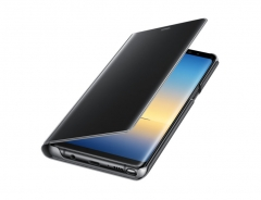 Samsung Galaxy Note8 Clear View Standing Cover black 78.5 x161.65 x13.6mm