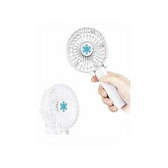 Handheld Rechargeable Fan - White