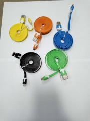 Android Phone  Rubber Cable 2M mix