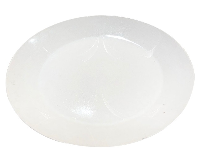 12 Pieces High Quality Ceramic Side Plate brown medium