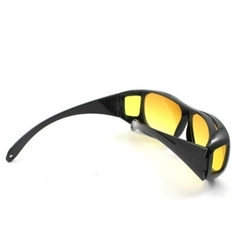 HD Polarized Night Vision Driving Glasses Black Normal