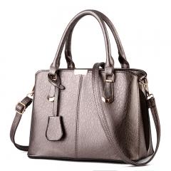 Manja Handbags Casual Women Shoulder Bag Designers Ladies Hand Bags Simple Style Crossbody silver one size