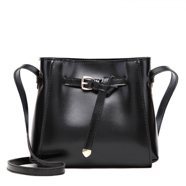 Manja New fashion women's small crossbody bags over the shoulder women handbag Bucket Shoulder Bags black one size