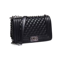 Manja 2018 fashion women's bag girl's bag handle bag shoulder bag black big size