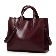 Manja High quality handbag ladies brand big casual lady bag fashion shoulder bag ladies maroon one size