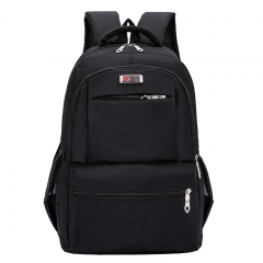 Manja Business Large-capacity Laptop Backpack Leisure Travel bag black one size
