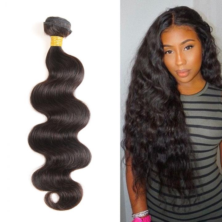 Kilimall Brazilian Virgin Hair Weave 1 Bundles Body Wave Human Hair