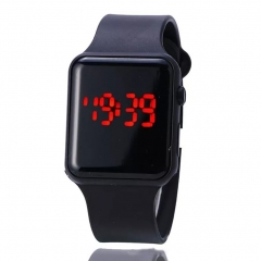 LED Bracelet Digital Watches For Men Clock Womens Wrist Watch Sports Wristwatch Electronic black 14cm-22cm