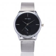 Men's Fashion Watch Quartz Wristwatches Fashion Accessory Father's Day Gift black 14cm-22cm