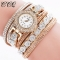 Women's Fashion Watch Quartz Wristwatches Bracelet Fashion Accessory Gift Men Women 14-26cm gold