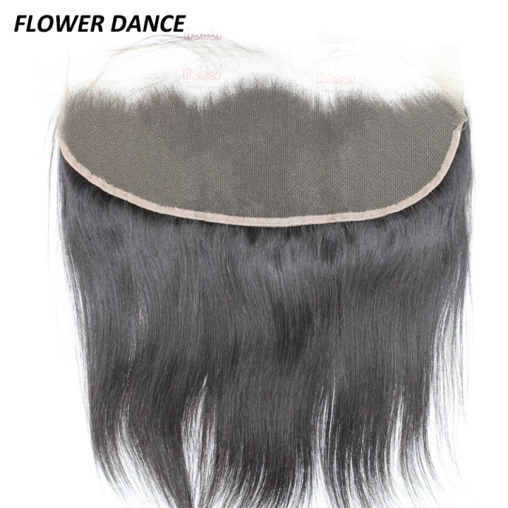 13*4 Ear To Ear Lace Frontal Brazilian Hair Natural Black 8 inch