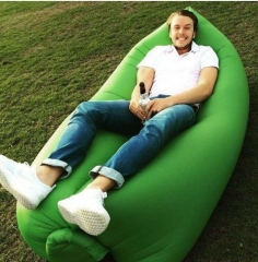 Outdoor Inflatable Lounger & Pool Chair, Hangout Sofa & Inflatable Couch for Bedroom purple