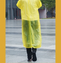 Homeinn Yellow EVA High Quality Raincoat/Rain Resistant as pinture