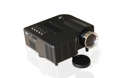 Homeinn Mini Home Theater Movie Video Projector for TV Box USD Card Laptop black as picture