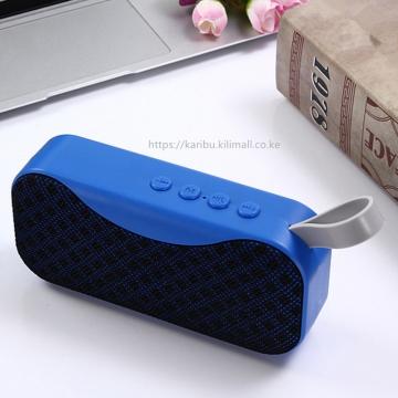 Bluetooth speaker, outdoor mini Bluetooth stereo, card audio, mini subwoofer blue 300mAh normal
