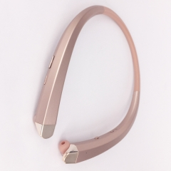 HBS-910 HBS 910 CSR 4.0 Tone Wireless Bluetooth Headphones Sports Neckband Earphone Rose Gold