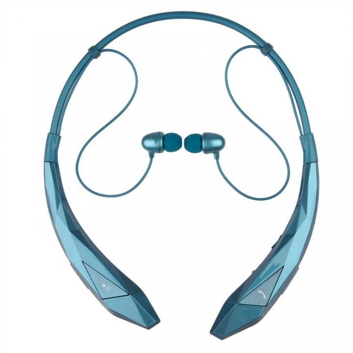 HBS 902 classic stereo music bluetooth earphone sport wireless earphones Heads-free style blue