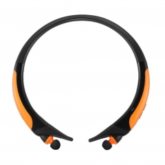 HX850S HX-850S Sport Bluetooth Headset Stereo Wireless Earphone For Cellphones orange