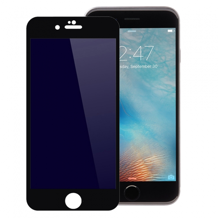 3D Full Cover Tempered Glass Phone Cases For iPhone 6 Plus 6S Plus Case Screen Protector Film Glass black 5.5inch